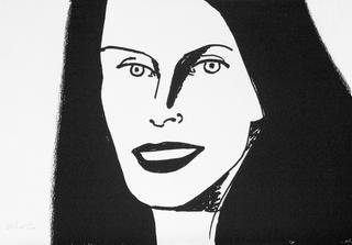 Christy, by Alex Katz