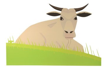 Cow, by Alex Katz