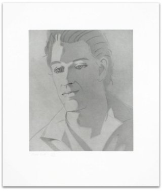 Give me Tomorrow (Ron), by Alex Katz