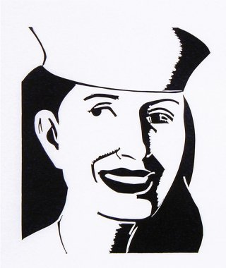 The Sailor Hat, by Alex Katz