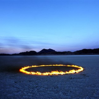 Circle of Fire in the Desert art for sale