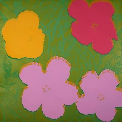 Andy Warhol, Flowers