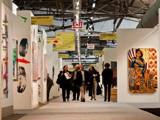 A1: NYC Art Fairs Gird for Latest Battle Royale