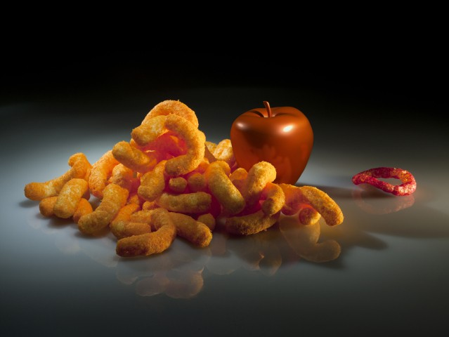 Claudia Hart, Still Life With Funyun