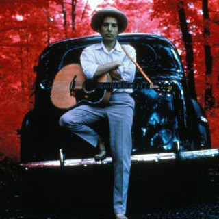 Bob Dylan, at his Byrdcliffe home, Nashville Skyline album cover, Woodstock, NY, 1969.  art for sale