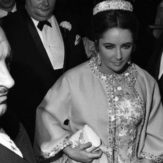 "Elizabeth Taylor, opening night, ""Dr. Faustus,"" NYC, 1968. art for sale"