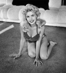 Playful Jayne Mansfield, by Frank Worth