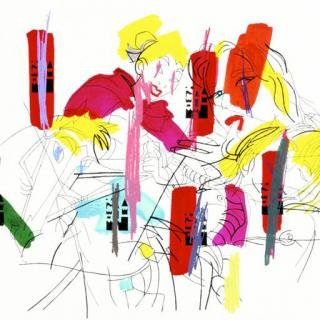 Ghada Amer, Sleeping Beauty