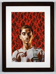 Flame Gyasar, by Kehinde Wiley