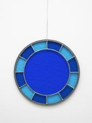 blue blue blue clock, by Ugo Rondinone